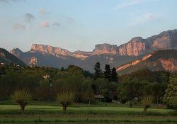 Glandasse-Gebirge, südl. Vercors; Quelle: Wikipedia