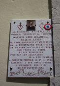 Gedenktafel A. Abbé-Decarroux