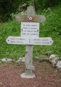 Gedenkkreuz 'Les Belles', Tote am 29. Juli 1944