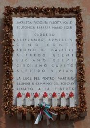 Gedenktafel Sette Martiri (Foto: resistenza)