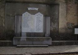 Gedenktafel für Kriegstote