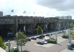 U-Boot-Bunker, Teilansicht von außen