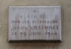 Tafel Julien Villermet