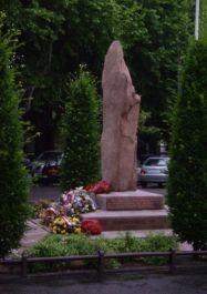 Denkmal an die friedliche Befreiung