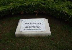 Gedenkstein für die Erschossenen