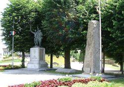 Monument de la Résistance et de la Déportation, Place du Général Leclerc (© Serge Tilly, CERP)