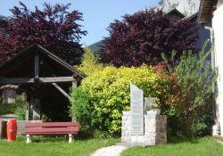 Denkmal vor Michel Palmers Haus