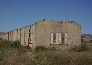 Ruine eines Hauses