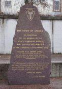Gedenkstein für US-Soldaten