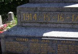 Totendenkmal: Resistants