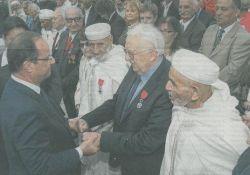 Ehrenlegion für marokkanische Goumiers und Résistants (© ANACR 2B)