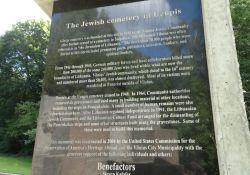 Gedenktafel alter Friedhof Užupis