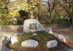 Gedenkstein Brückensprengung