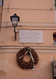 Gedenktafel Piazza delle Erbe (Baldini)