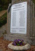 Gedenktafel an die Ermordeten (© archives AFAV)