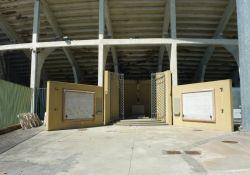 Gedenkstätte im Stadion Campo di Marte
