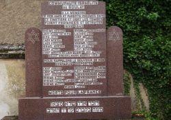 Deportierten-Denkmal, israelitischer Friedhof