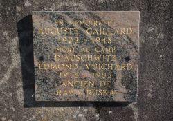 Gedenktafel Auguste Gaillard