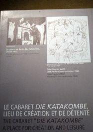 Katakombe, Theater der Internierten (Plakat)