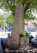 Denkmal für Tote der Volkserhebung (© Gérard COLETTA)