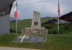 Denkmal vor ehem. Abwurfplatz