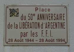 Straßenschild Befreiungsplatz