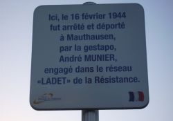 Gedenktafel André Munier