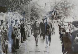Besuch de Gaulles in Zonza *