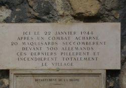 Gedenktafel Les Baraques