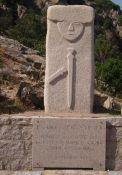 Stele zu Ehren des Kampfes der Résistants gegen den Faschismus