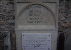 Gedenktafel Jacques Borrie