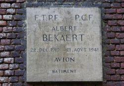 der erste Füsilierte A. Bekaert