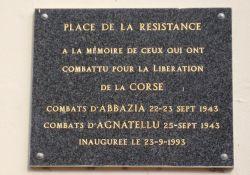 Gedenktafel für den Widerstand