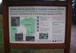 Informationstafel zum ehem. Steinbruch