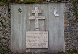 Gedenktafel am Belvédère