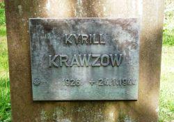 Grabstein Kyrill Krawzow, sowj. Häftling
