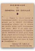 Zitat de Gaulle, Ajaccio