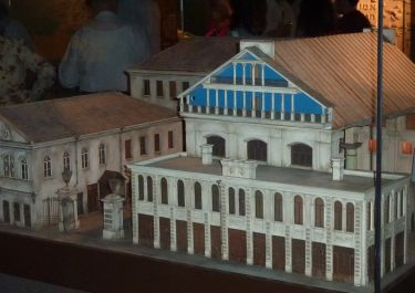 Modell der Großen Synagoge (House of Diaspora, Tel Aviv)
