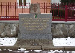Gedenkstein an die Befreiung