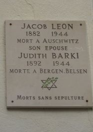 Tafel Léon und Barki