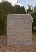 Gedenkstein für die Deportierten von Berrien