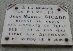Gedenktafel Jean Martial Picard (© Michel Cantillon, genweb)
