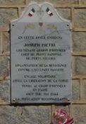 Gedenktafel Joseph Pietri
