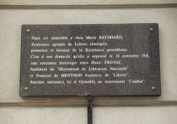Gedenktafel Marie Reynoard