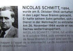 Lebensdaten Nikolaus Schmitt