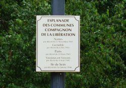 Esplanade der 'Compagnon de la Libération'-Gemeinden