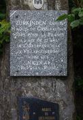 Gedenktafel Zurkinden und Nicolai