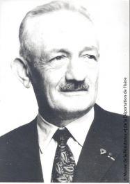 Eugène Chavant, Zivilchef der Frz. Republik des Vercors; © Musée de la Résistance et de la Déportation de l'Isère