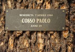 """Für jeden der """"Ragazzi della Benedicta"""" ein Baum"""