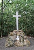 """""""Croix des Ajoncs"""" - Kreuz für fünf getötete Maquisards; © *)"""